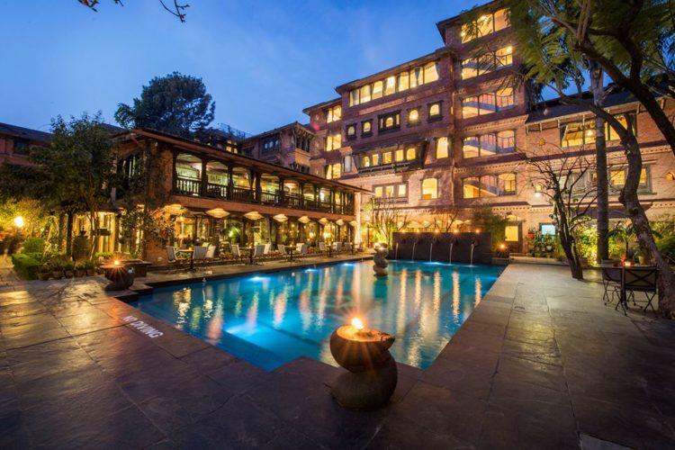 Foto: Das Krishnarpan gehört zum Dwarika's Hotel, dem teuersten und besten Hotel der Stadt © The DWARIKA'S HOTEL
