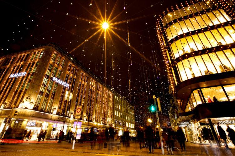 Bahnhofstraße Zürich Weihnachtsbeleuchtung