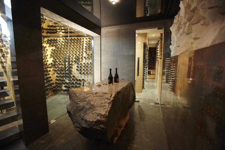 Foto: Der Champagner Keller des Ellerman House.