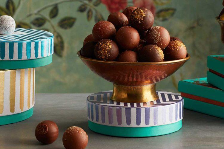 Foto: Das Fortnum&Mason in der Piccadilly Street ist DIE Adresse für Schokoladen-Fans © Fortnum & Mason