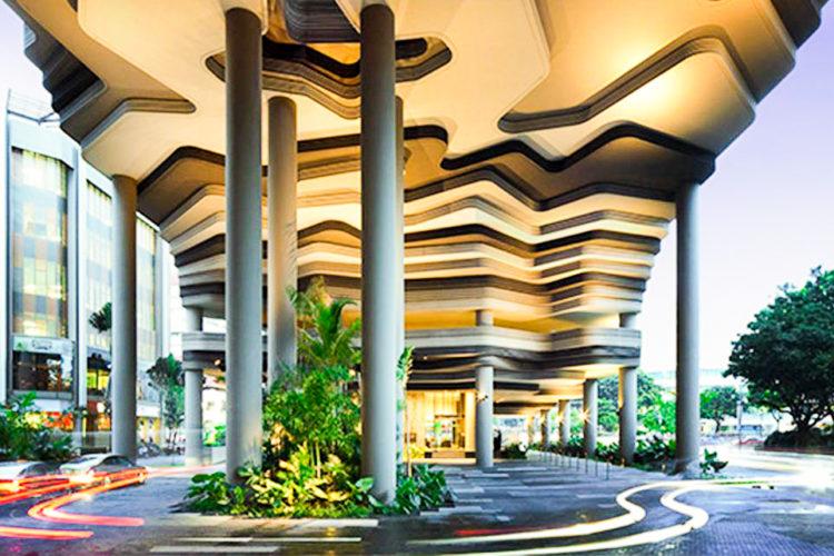 Hotel Parkroyal on Pickering Singapur