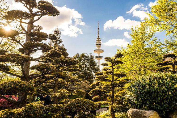 City-Park Planten und Blomen – das grüne Herz Hamburgs.