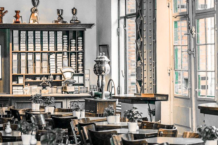 Speicherstadt Kaffeerösterei Geschäft © Hacienda San Nicolás GmbH